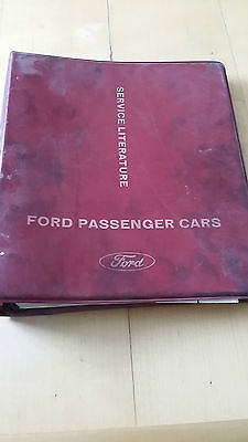 Ford Passenger Cars, Service Literature Corsair Models 1965