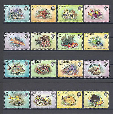 BELIZE 1984-88 766/81 MNH Cat £12.50