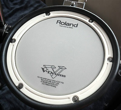 Roland PDX-8 Electronic Mesh V Drum Dual Zone pad