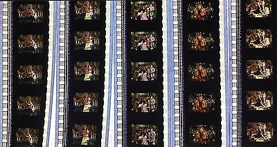 Wizard of Oz - various sets - 5 strips of 5 35mm Film Cells