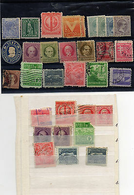 Stamps  Central America,small selection.