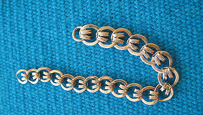 Antique 10K Rose Gold Watch Chain Missing Clip 12 Grams