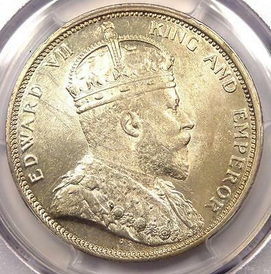 1903-B Straits Settlements Dollar $1 - PCGS Uncirculated (UNC MS) - Rare Coin!