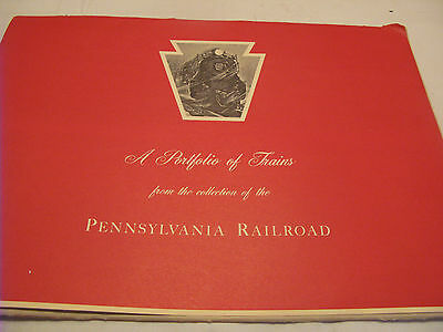A Portfolio Of Trains From The Collection Of The Pennsylvania Railroad~