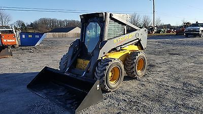 2003 New Holland LS190 Skid Steer Loader w/ Cab. Coming in Soon!