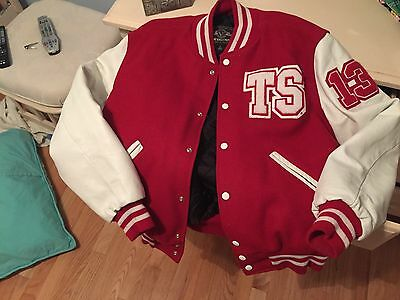 Taylor Swift AUTHENTIC Varsity Jacket from THE RED TOUR-Size Small