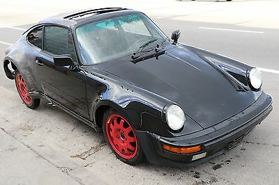 Porsche 911 930 1988 Turbo Chassis Body Salvage Rolling Project