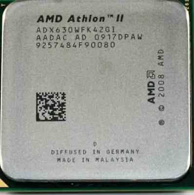 AMD CPU Athlon II X4-630 2.8GHz Socket AM3 ADX630WFK42GI