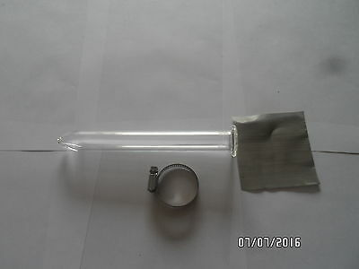 Glass Tube Extractor Lab Filtration Unit   8 Inch Medium Kit New