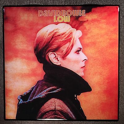 DAVID BOWIE Low Record Cover Art Ceramic Tile Coaster