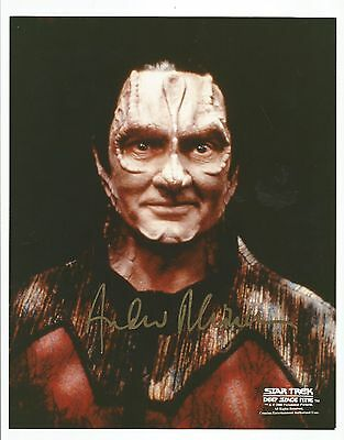 STAR TREK DS9 ANDREW ROBINSON as GARACK THE TAILOR SIGNED IN PERSON 8X10 PHOTO