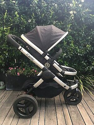 iCandy Peach Jogger Pram  (3 wheel, great condition)