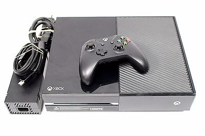 Microsoft XBOX ONE 500GB Black Gaming Console 1540 +EXTRAS / NO KINECT / AVERAGE