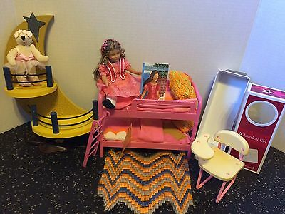 """American Girl Doll 6"""" Marie Grace With Bunk Bed"""