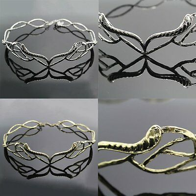 Women Wedding Lord of the Ring Hobbit Elven Leaf Crown Elrond Lotr Circlet Party