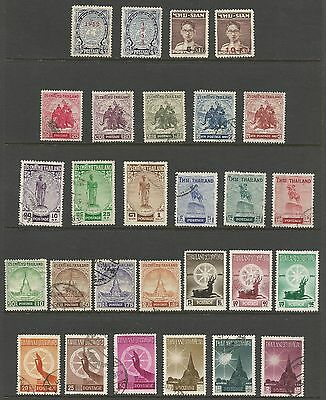 Thailand Stamp Collection #297 // #329 Mh And Used 28 Stamps Cv $62.85  L28