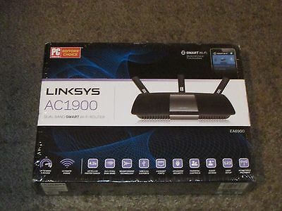 Brand New LINKSYS AC1900 Dual band SMART Wi-Fi Router New Sealed EA6900