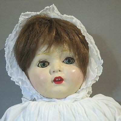 Large 27 Inch Antique Louis Amberg 1910 Doll
