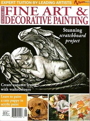 Fine Art & Decorative Painting Vol 22 No 6. 2014.pattern Sheet Attached