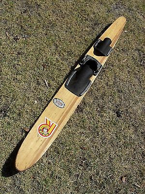 Original Vintage Timber / Wooden - Junior Water Ski - Great For Display