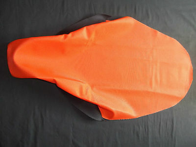 Ktm Hardcore Orange Full Gripper Seat Cover 2005-2010