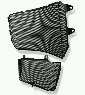 Evotech Performance Yamaha MT-10 2016+ Grill Radiator Oil Cooler Guard Set prote
