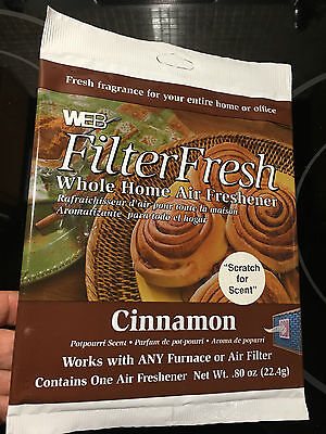 WEB FilterFresh Whole Home Cinnamon Furnace,Air conditioner filter Freshner