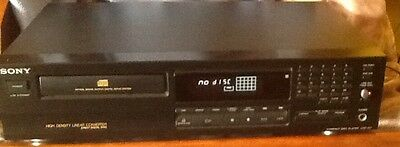Reproductor Sony.cd.compact Disc.cd Player. Direct Digital Sync.servo System.