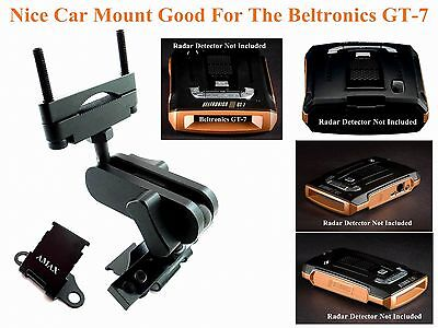 Nice Car Mount For Rear Mirror Good For The Beltronics GT-7 & Max Radar Detector