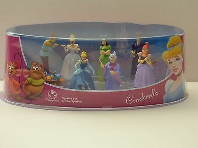 Disney Store Cinderella Cake Topper Playset Figurines