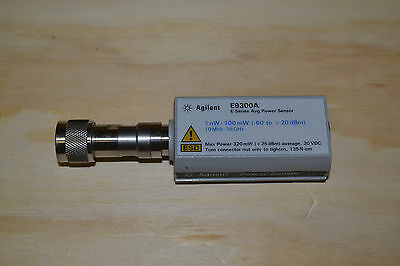 Agilent Keysight E9300A E-Series Average Power Sensor 1nW - 100mW, 10MHz - 18GHz