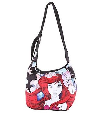 Disney The Little Mermaid Ariel Color Sketch Hobo Bag Tote New With Tags!