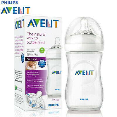Philips AVENT Natural Feeding Bottle 260ml/9oz Single - SCF693/17