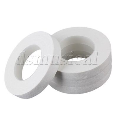 10 Meter/Roll Soft White Adhesive Tapes for Guzheng and Pipa Players Pack of 4