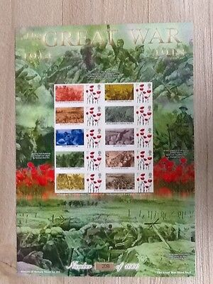 History of Britain No. 101 Trenches - The Great War 1914 -1918. MNH.