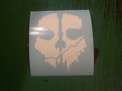 Call of Duty Ghost Skull 100mm Elite MW3 Decal Stickers