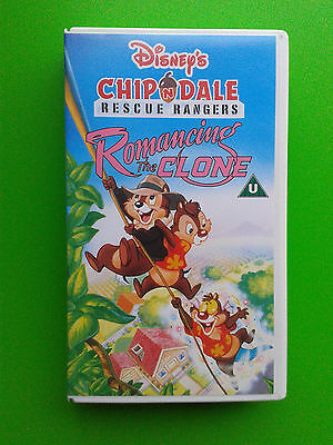 Chip n Dale Rescue Rangers - Romancing the Clone - Disney VHS Video Catoon