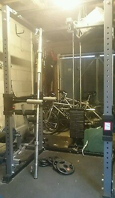 Bodycraft F430 power rack cage weights machine+ 200lb stack +pulley accessories