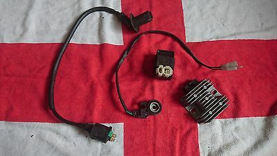 Wk 125 Wasp Scooter Cdi Unit Ht Coil Regulator Rectifier Side Stand Switch Kill