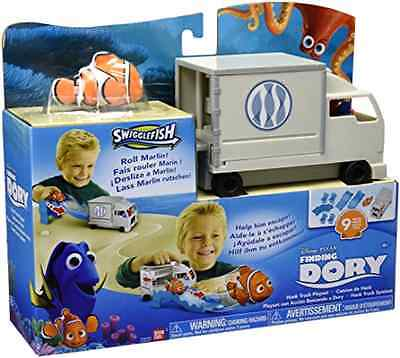 Character Toy Finding Dory Hank Truck Playset with Exclusive Marlin Swiggle Fish