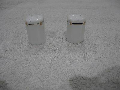 Porcelain Small Salt and Pepper Shakers - (used)