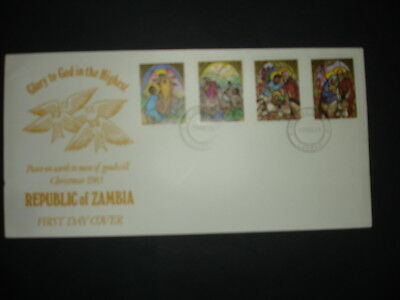 Zambia : 1983 Christmas : Pictorial FDC