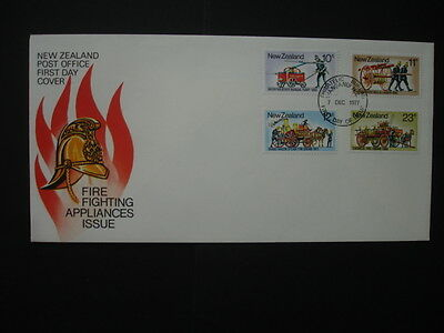 New Zealand : 1977 Fire : Pictorial FDC