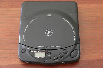 GE  Personal Compact Disc CD Player EA3 in great condition - working!!