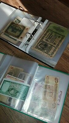 banknotes collection (about 230 pcs)