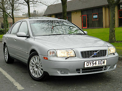 2004 54 Volvo S80 2.4 TD D5 SE 4dr WITH LEATHER+SUNROOF+FSH++
