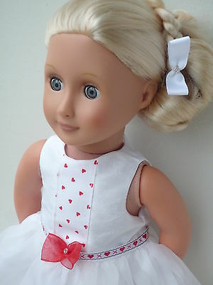 Valentine dress 18 dolls clothes,My friendCayla,Our Generation, American girl