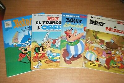 Asterix El Galo, Doble Idioma Catalan E Ingles, Gal The Gaul, Tapa Dura.