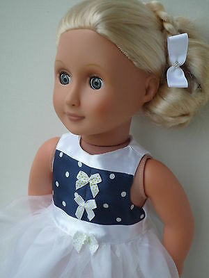 Pretty Party dress 18 dolls clothes,My friendCayla,Our Generation, American girl