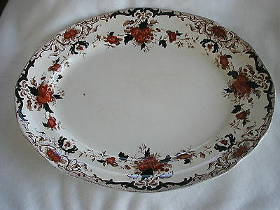 Meat charger / serving plate